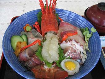 伊勢海老海鮮丼